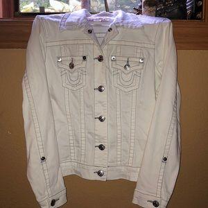 True religion woman's jean jacket